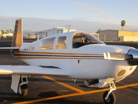 low time 1977 Mooney 201 Aircraft for sale