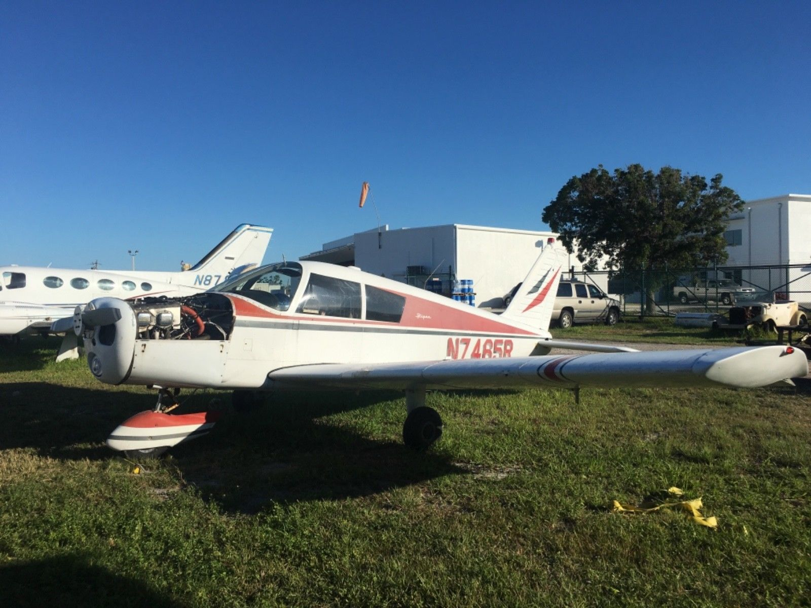 needs work 1966 Piper Cherokee 140 Project aircraft for sale