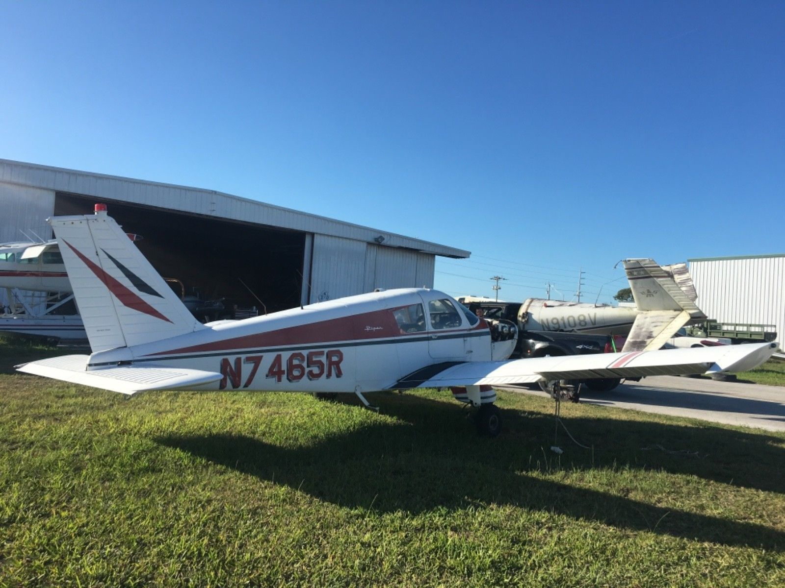needs work 1966 Piper Cherokee 140 Project aircraft