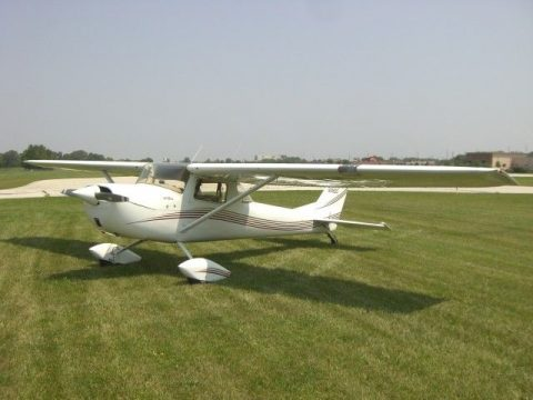 newer paint 1967 Cessna 150G aircraft for sale