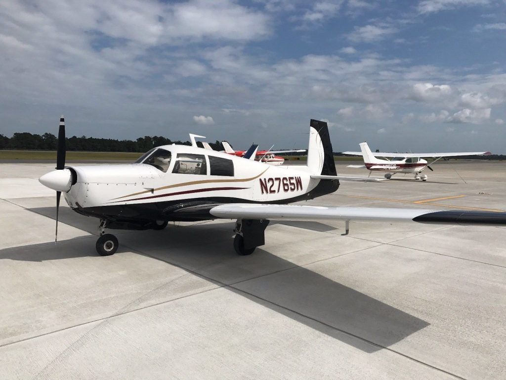 overhauled engine 1966 Mooney M20E Super 21 aircraft