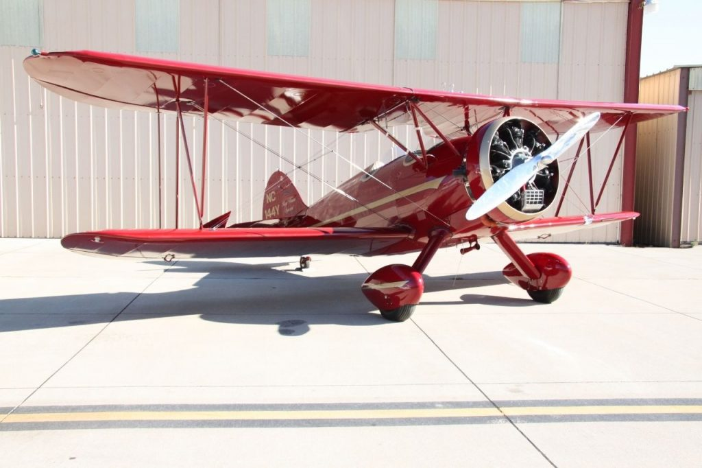 stunt plane 1930 WACO RNF aircrat