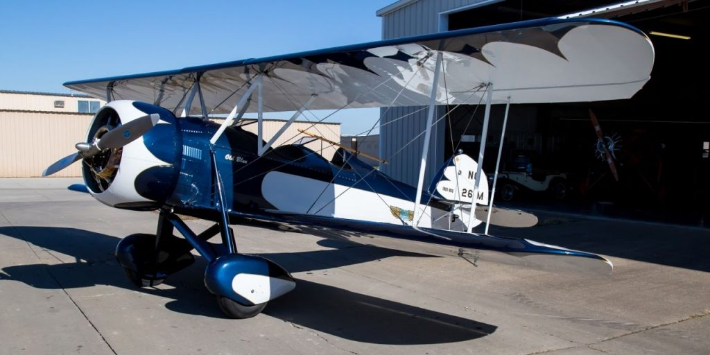 vintage 1929 WACO BSO Straight Wing Single Engine aircraft