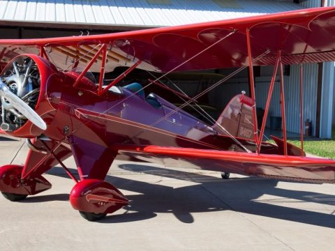 vintage 1930 WACO QCF Fixed Wing Single Engine aircraft for sale