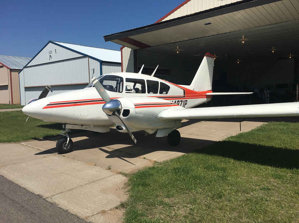 converted to stronger engine 1963 Piper PA 23 235 aircraft for sale