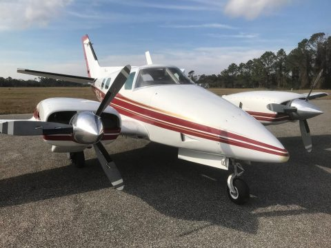 hangared 1974 Beech B 60 Duke aircraft for sale
