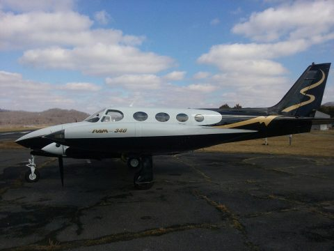 loaded 1972 Cessna 340 aircraft for sale