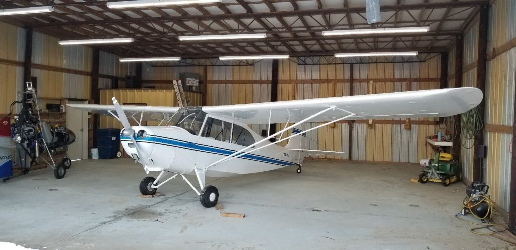 new paint 1946 Aeronca Champ