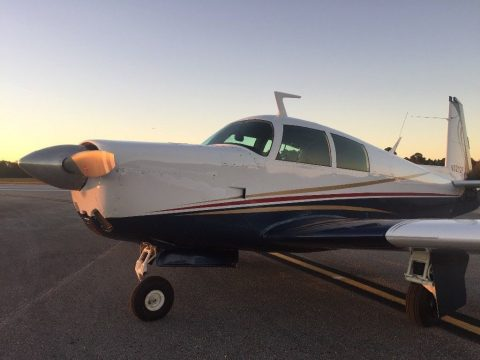 new paint 1967 Mooney M20 E Super 21 aircraft for sale