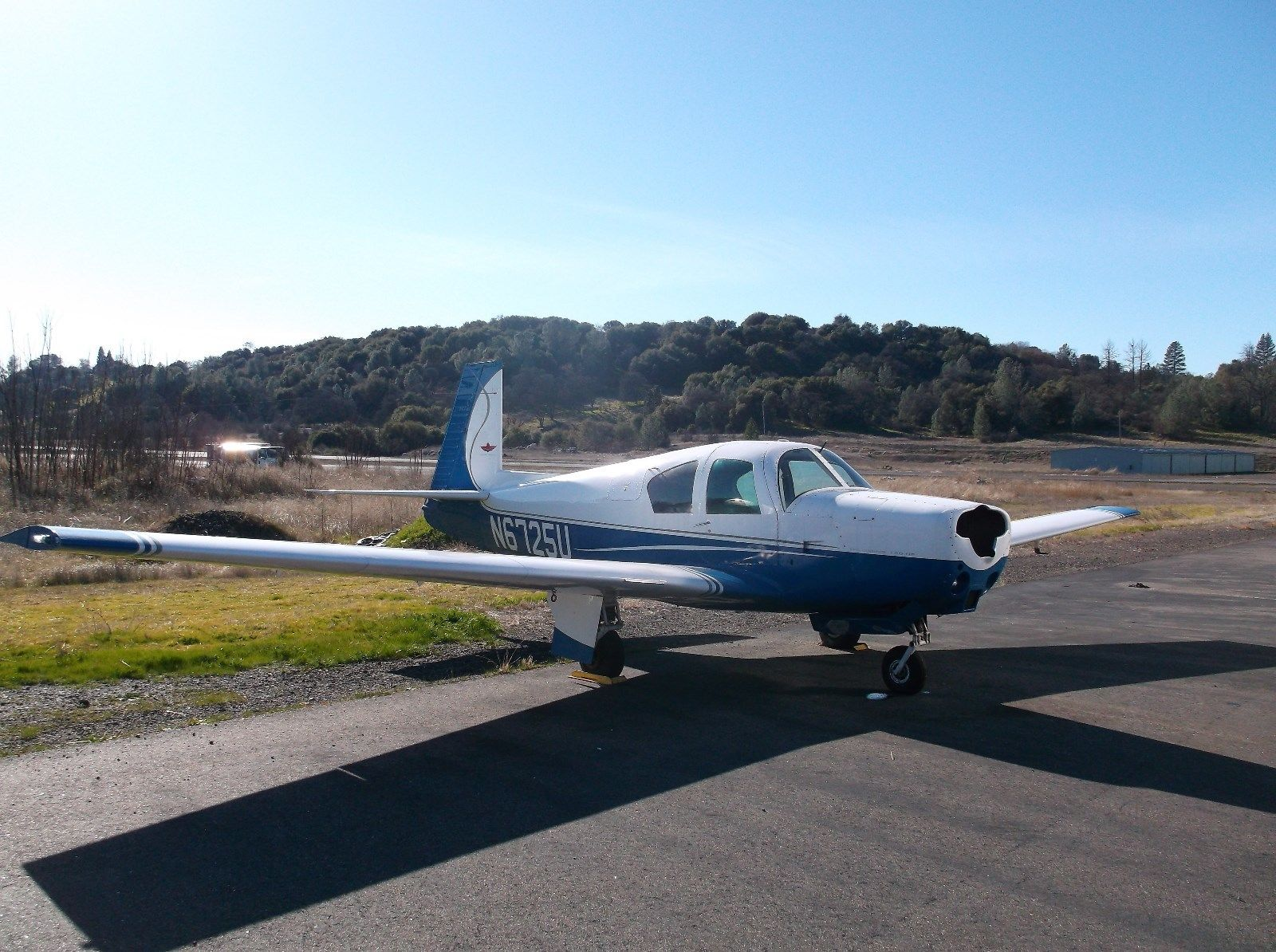 nice paint 1963 Mooney M20c aircraft for sale
