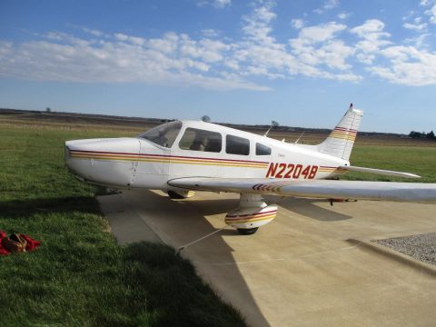 damaged 1979 Piper PA 28 236 Dakota aircraft for sale