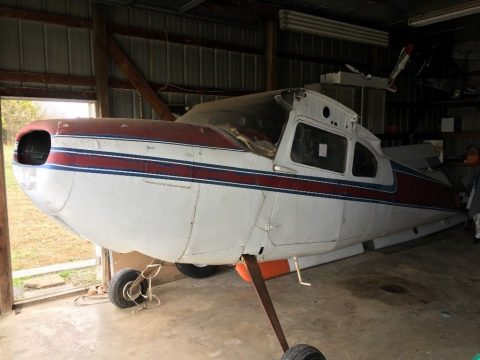 damaged project 1957 Cessna 180 Project aircraft for sale