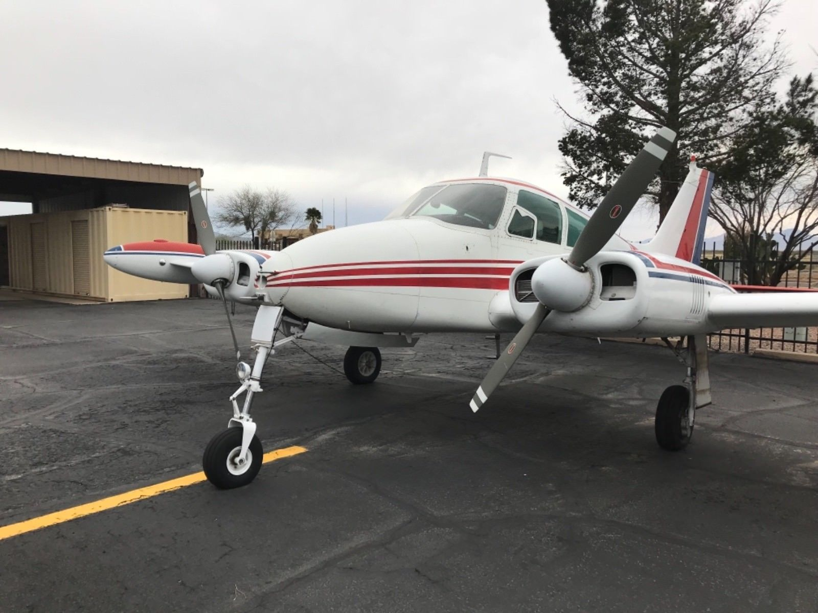 Fresh Props 1960 Cessna 310D aircraft for sale