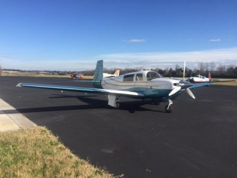 ground damage 1978 Mooney M20J aircraft for sale