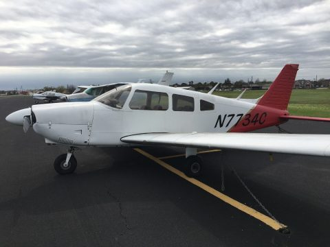surface rust 1975 Piper Archer II PA28 aircraft for sale