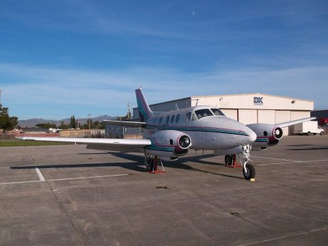 complete airframe 1966 Beechcraft KING AIR 90 aircraft for sale