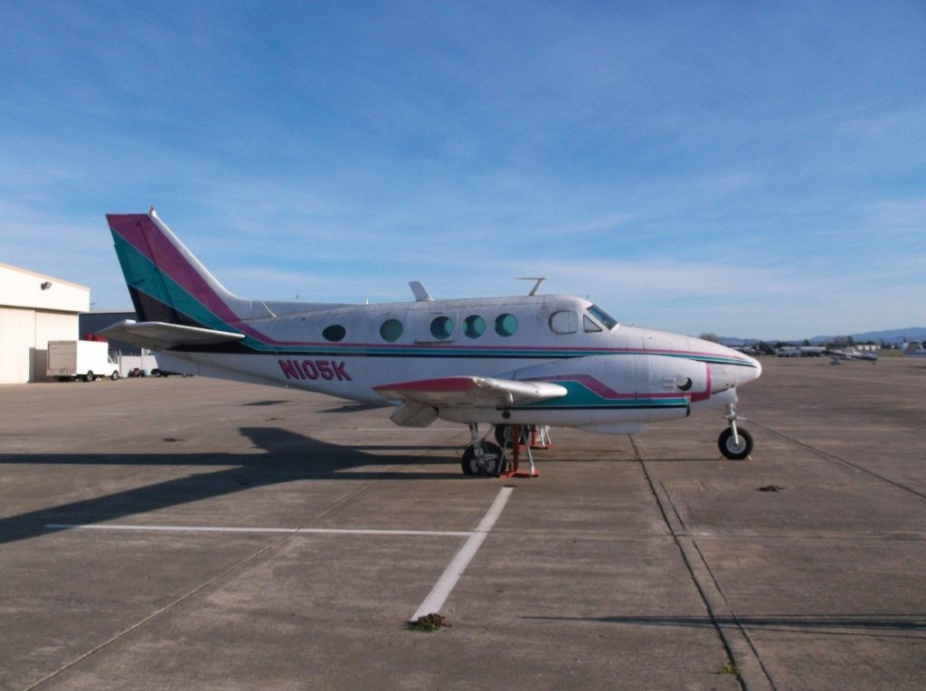 complete airframe 1966 Beechcraft KING AIR 90 aircraft