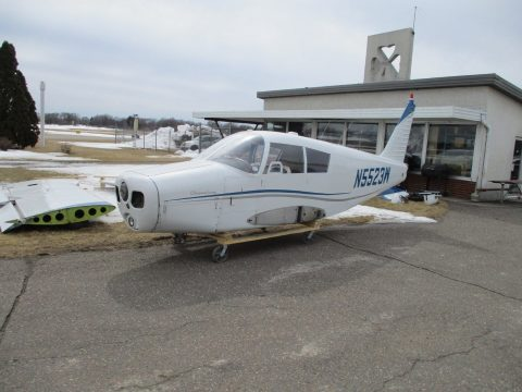 damaged 1962 Piper Cherokee 150 aircraft for sale