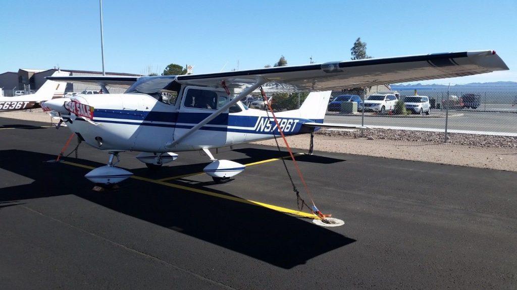 loaded 1964 Cessna 172E aircraft