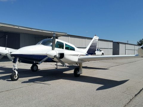 loaded 1974 Cessna 310Q Riley Turbostream aircraft for sale