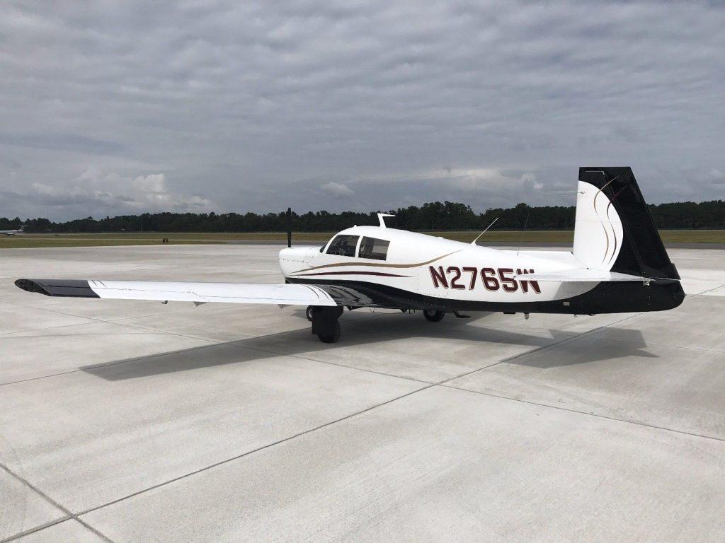 overhauled engine 1966 Mooney M20E Super 21 aircraft