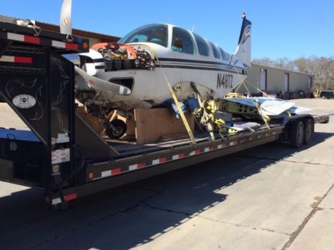 project 1981 Beechcraft A36 Air Conditioned Garmins aircraft for sale