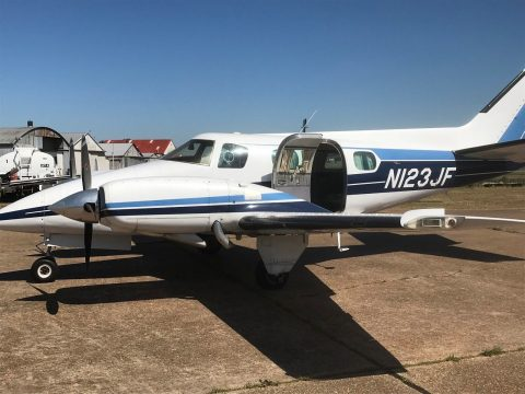 updated 1974 Beech B 60 Duke aircraft for sale