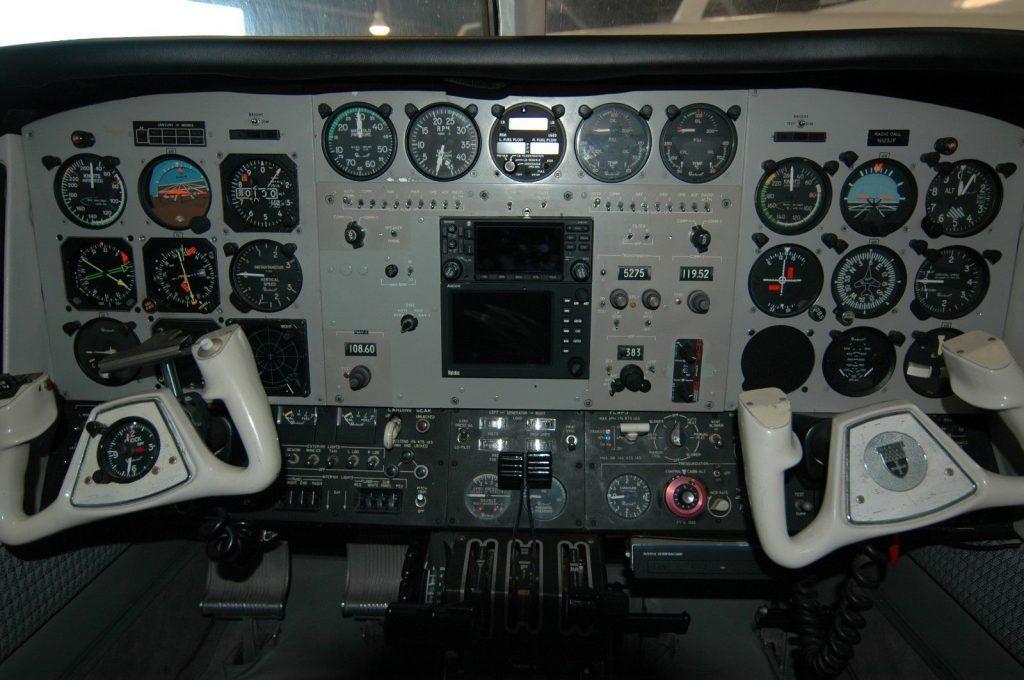 updated 1974 Beech B 60 Duke aircraft