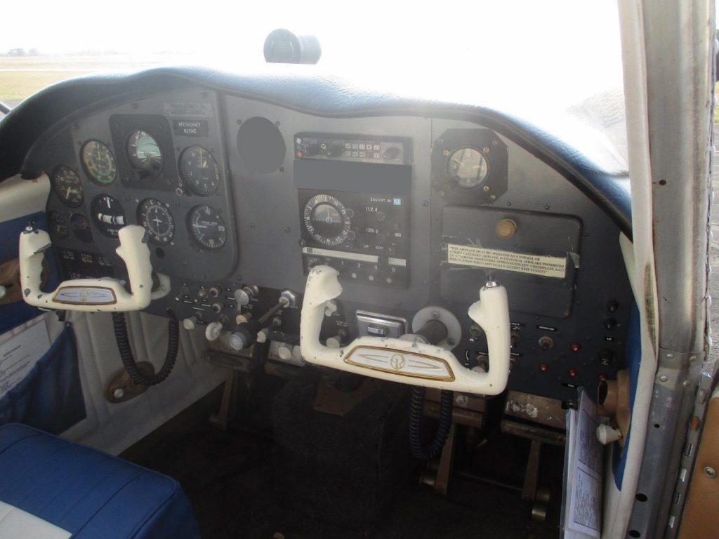 Airframe 1962 Beech 23 Musketeer aircraft