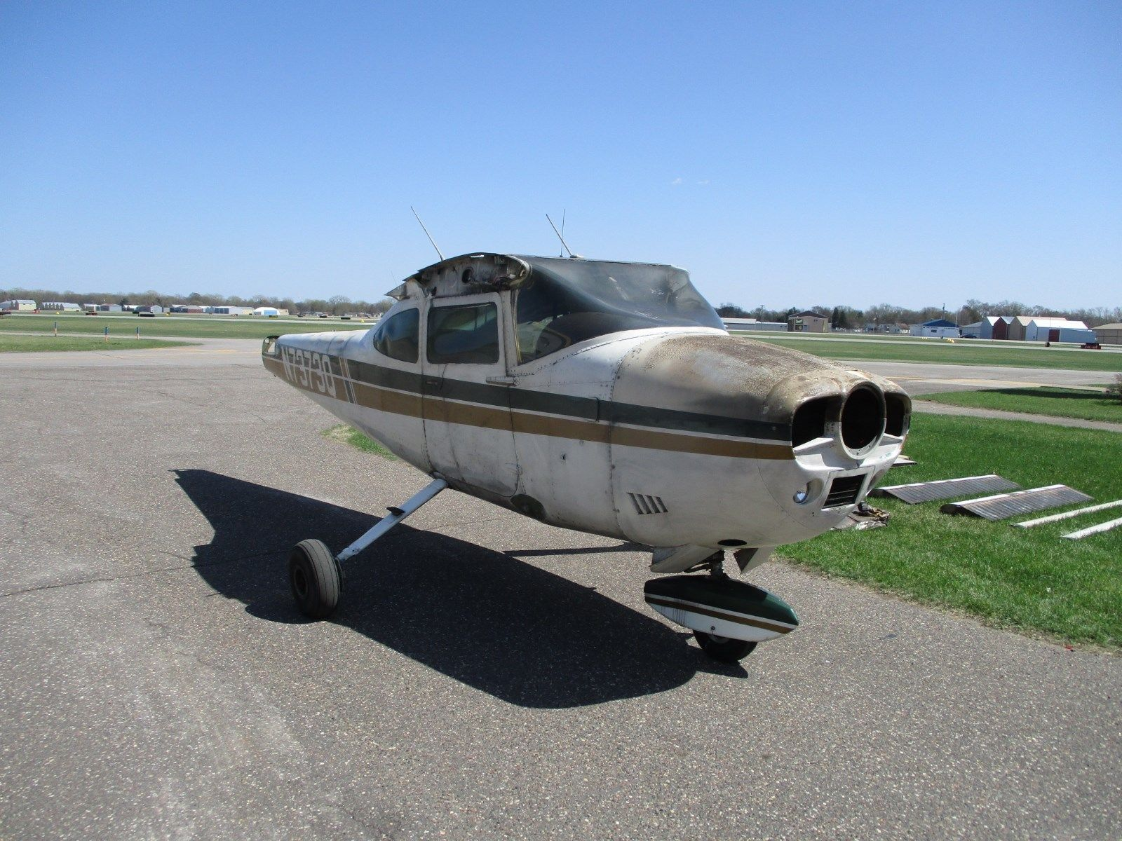 airframe only 1972 Cessna 182p aircraft for sale