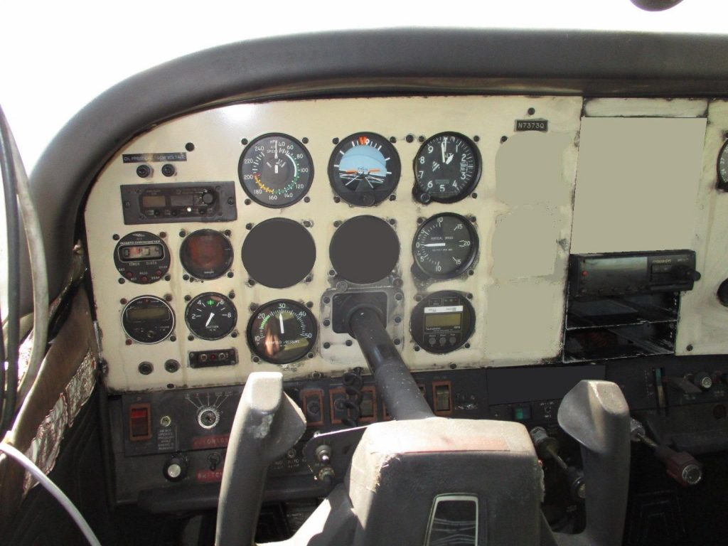 airframe only 1972 Cessna 182p aircraft
