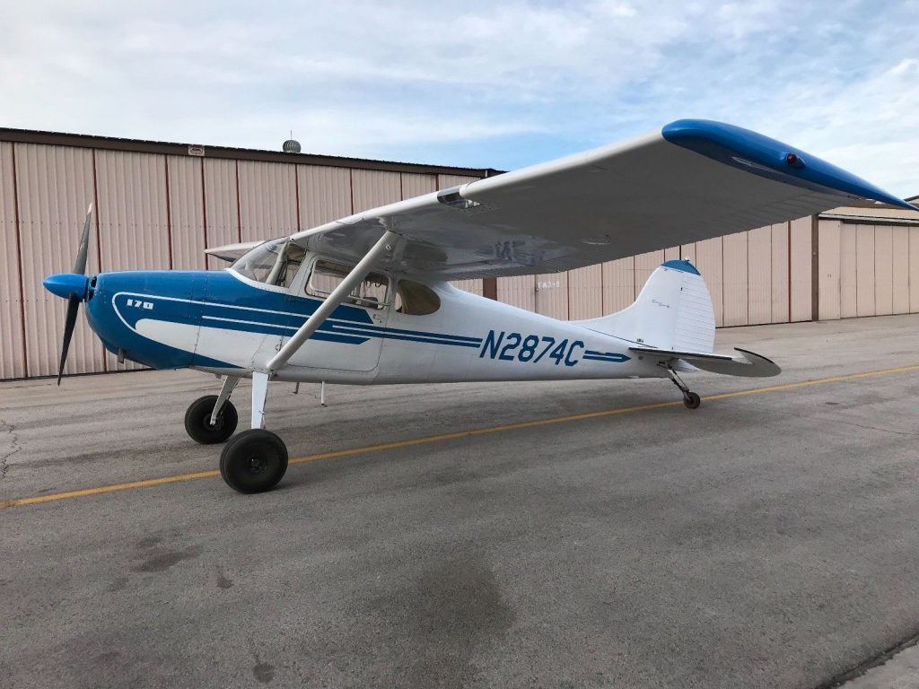 great shape 1954 Cessna 170B aircraft
