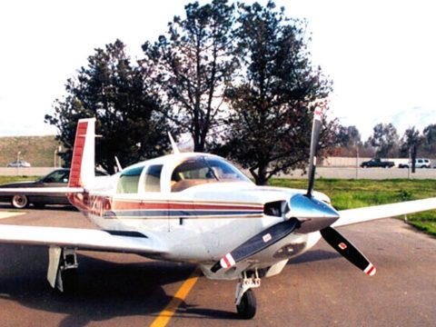 hangared 1979 Mooney 231 Rocket aircraft for sale
