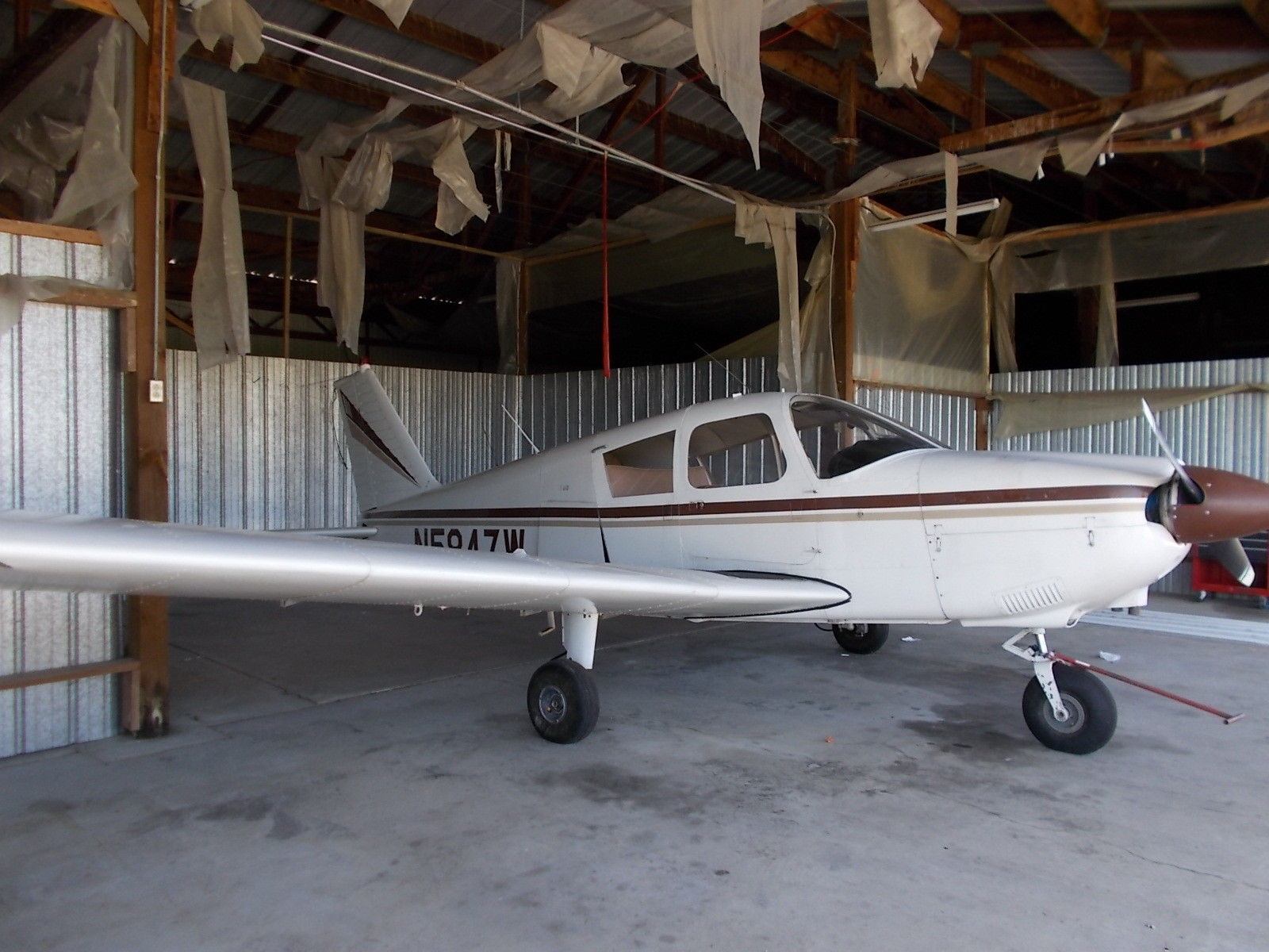 light 1965 Piper Cherokee 160c aircraft for sale