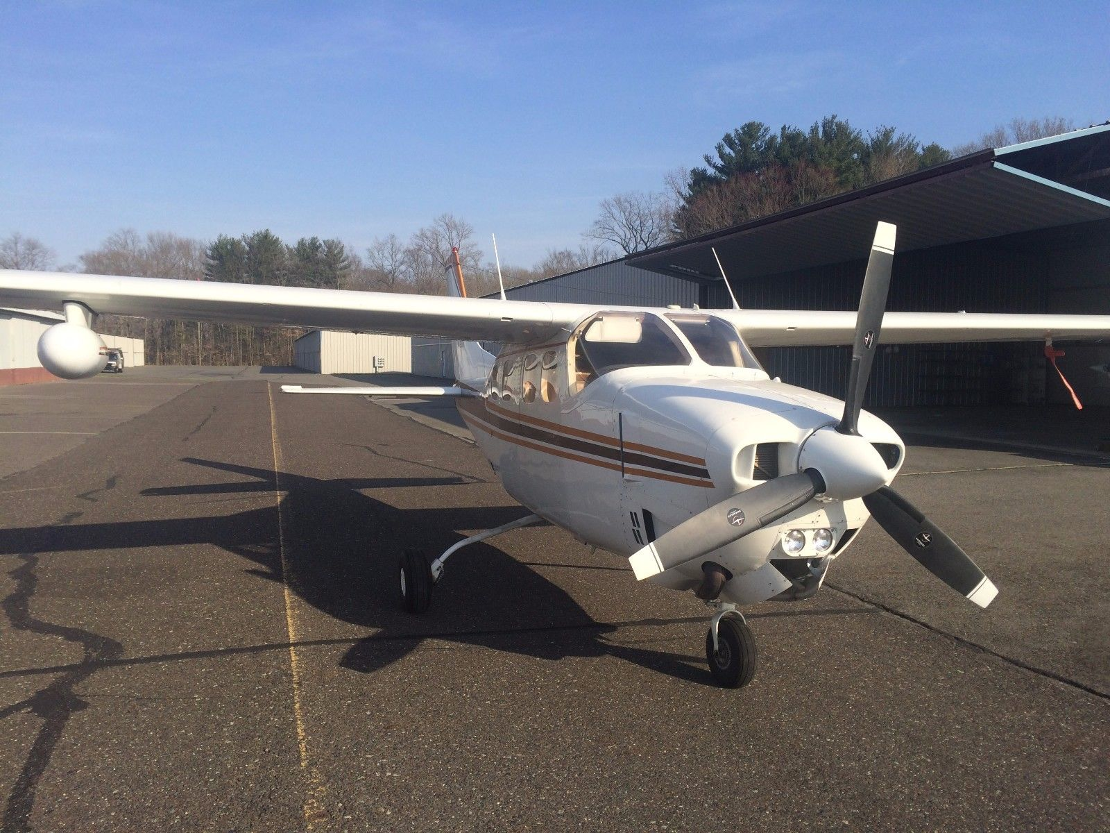 low hours 1979 Cessna Centurion P210N aircraft for sale