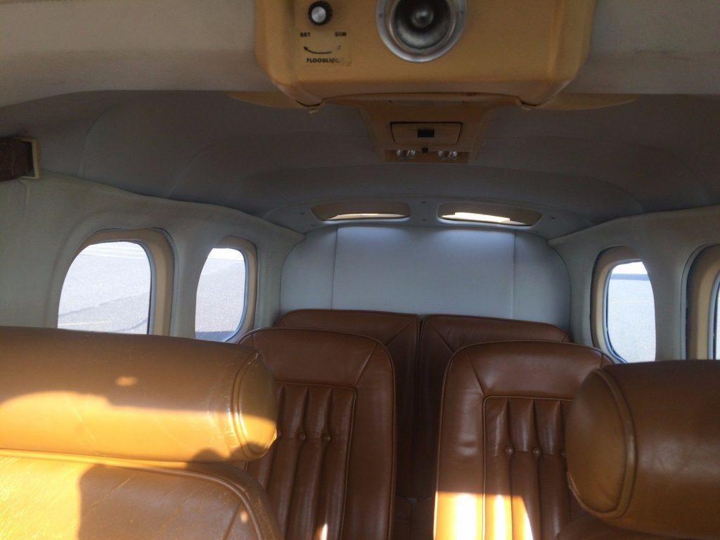low hours 1979 Cessna Centurion P210N aircraft