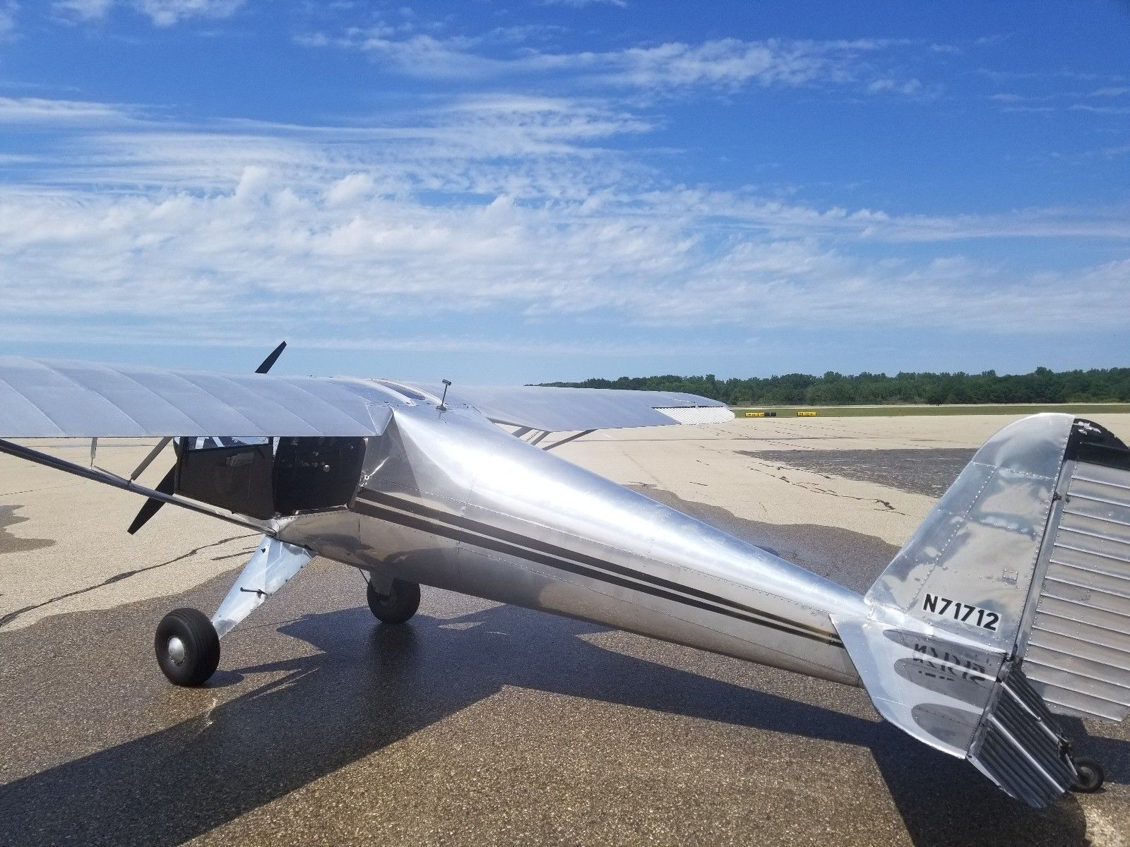 vintage 1946 Luscombe 8A aircraft for sale
