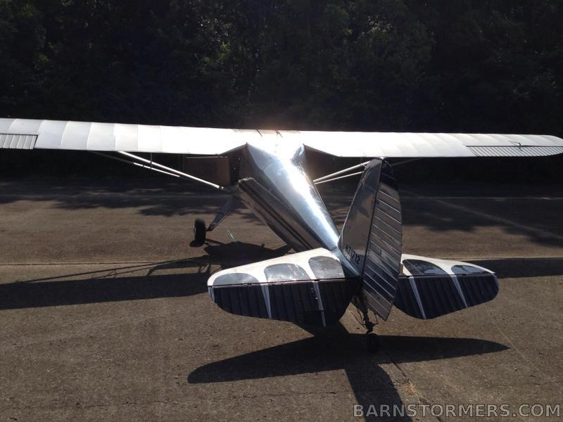 vintage 1946 Luscombe 8A aircraft