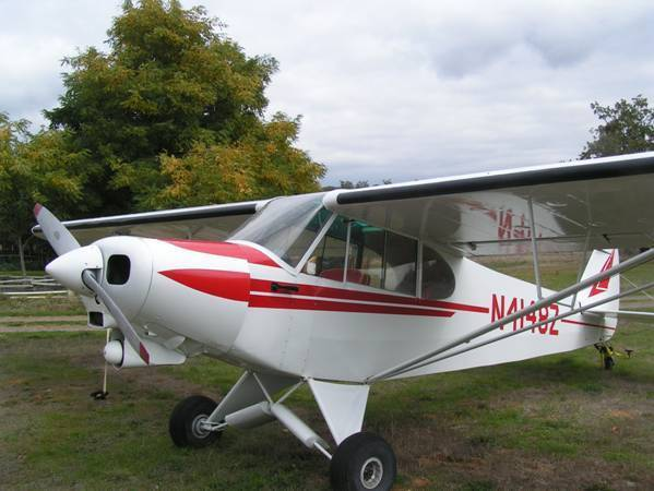 classic bush plane 1965 Piper 180 Super Cub aircraft for sale