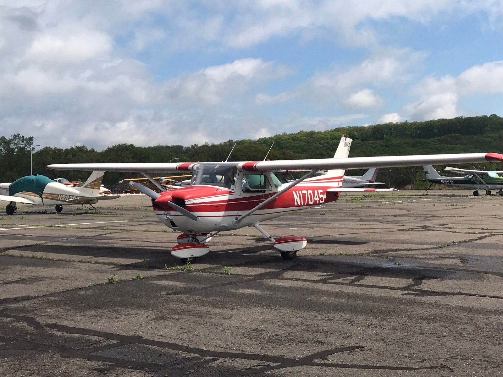 great running 1972 Cessna 150 L aircraft for sale