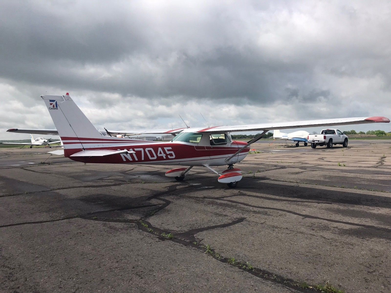 great running 1972 Cessna 150 L aircraft