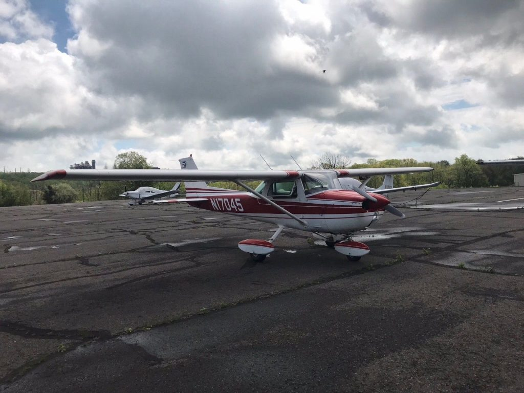 great running 1972 Cessna 150 L aircraft