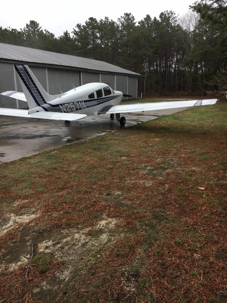 loaded 1985 Piper Warrior aircraft