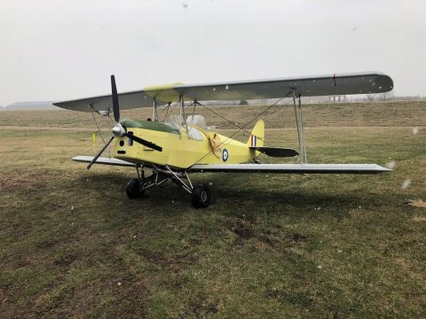 replica 1998 Fisher R 80 Tiger Moth aircraft for sale