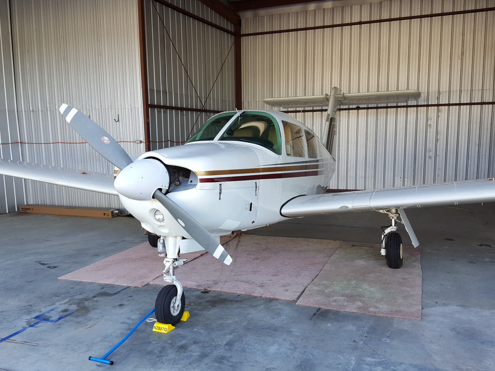 Fresh Prop Overhaul 1979 Piper Arrow IV Aircraft for sale