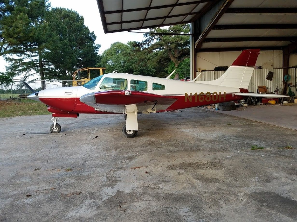 new paint 1977 Piper Turbo Arrow aircraft for sale
