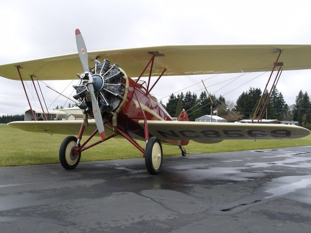 Rare 1929 WACO Taperwing aircraft for sale
