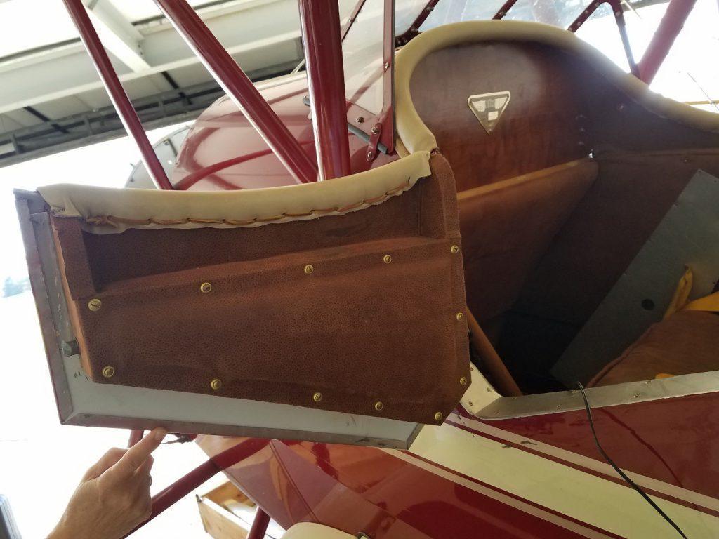 Rare 1929 WACO Taperwing aircraft