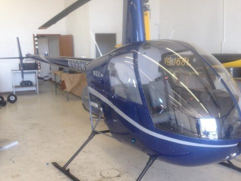 totally restored 1981 Robinson R22 HP ADS B aircraft for sale