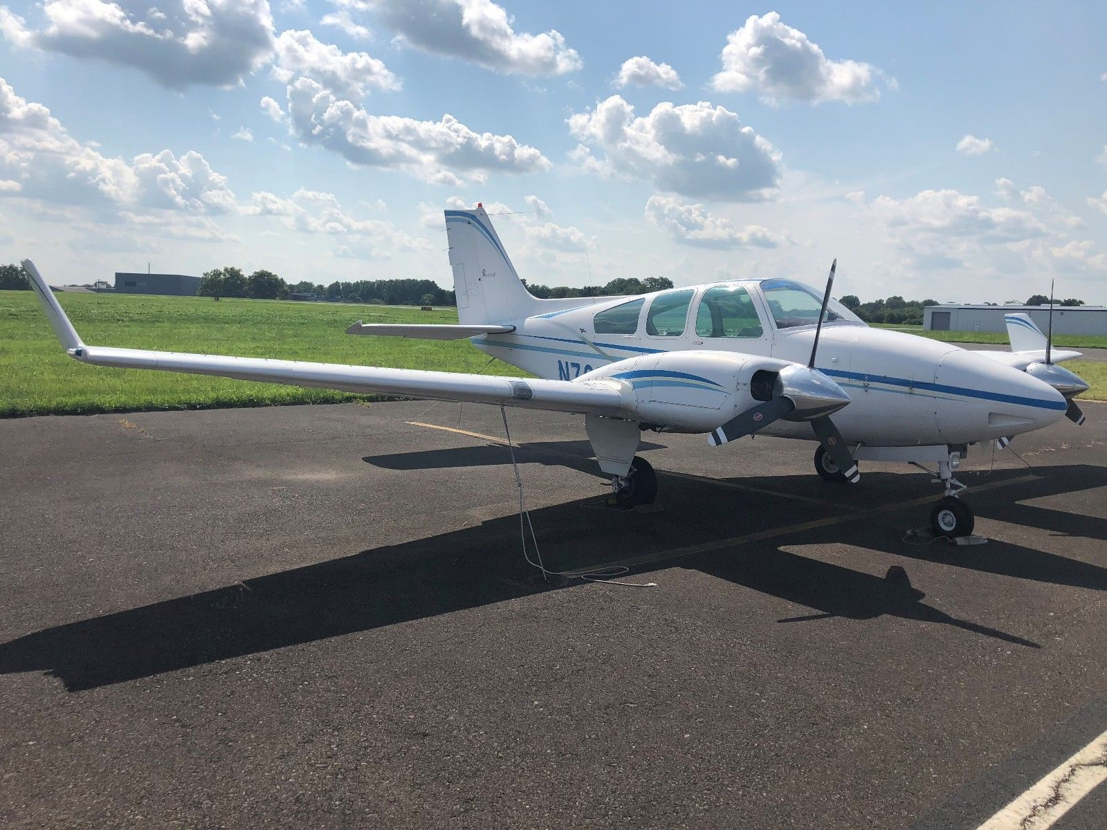 great shape 1962 Beechcraft Baron A55 aircraft for sale